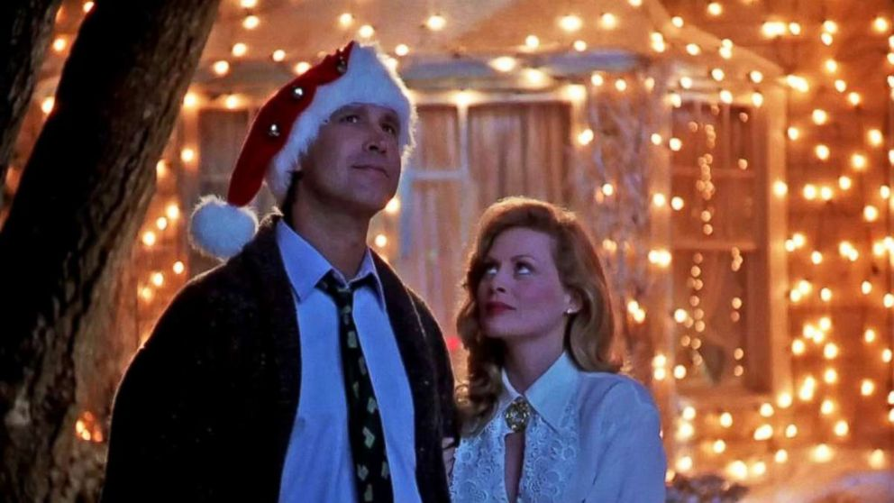 PHOTO: Chevy Chase in the movie, National Lampoons Christmas Vacation.