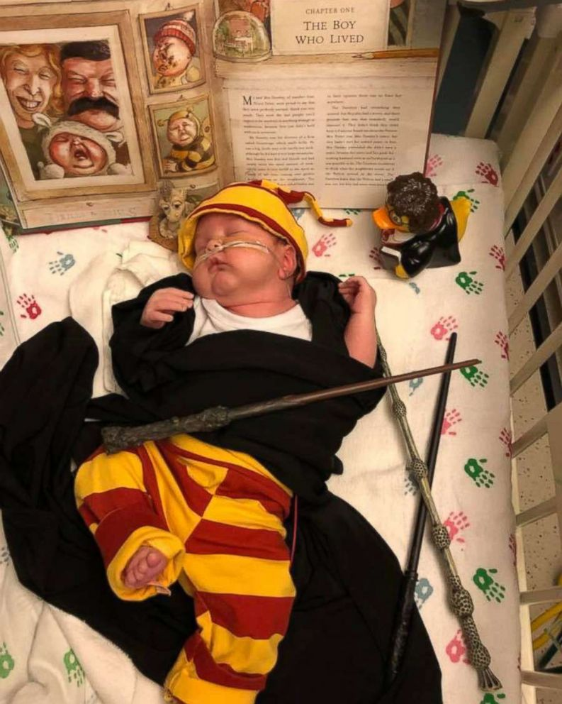 PHOTO: Atticus is magical as Harry Potter.