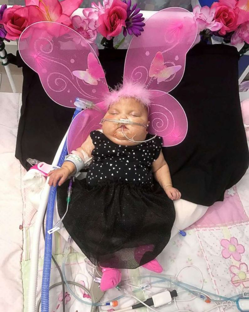 PHOTO: Arianna is blossoming into a beautiful butterfly.