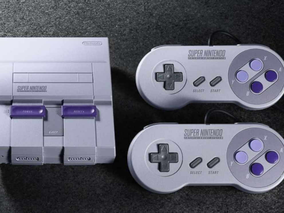 PHOTO: The Super NES Classic Edition system is pictured in this undated photo.