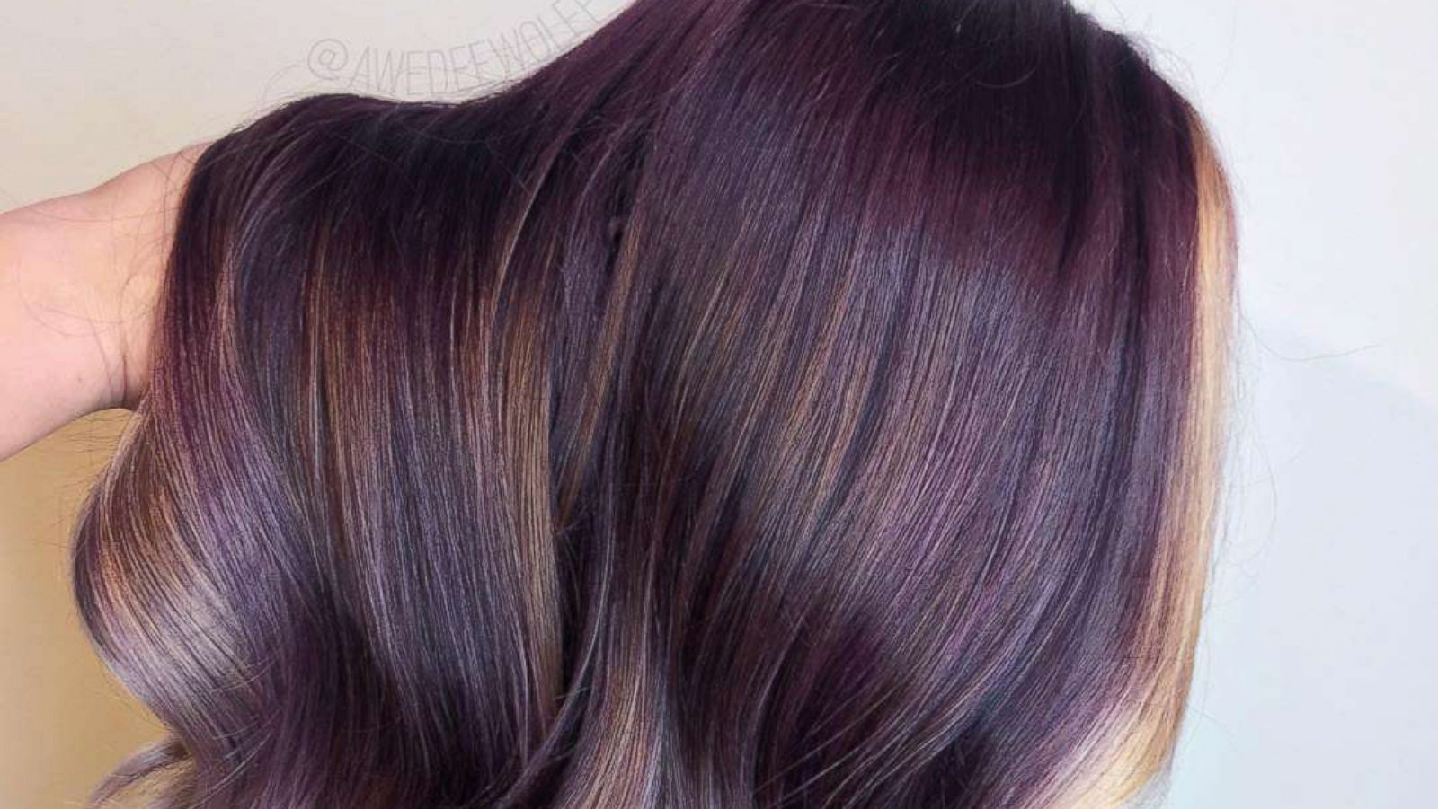 The Peanut Butter And Jelly Hair Trend Is Actually Beautiful Abc News