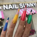 Colored pencil nails from this Russian nail salon have gone viral on Instagram.