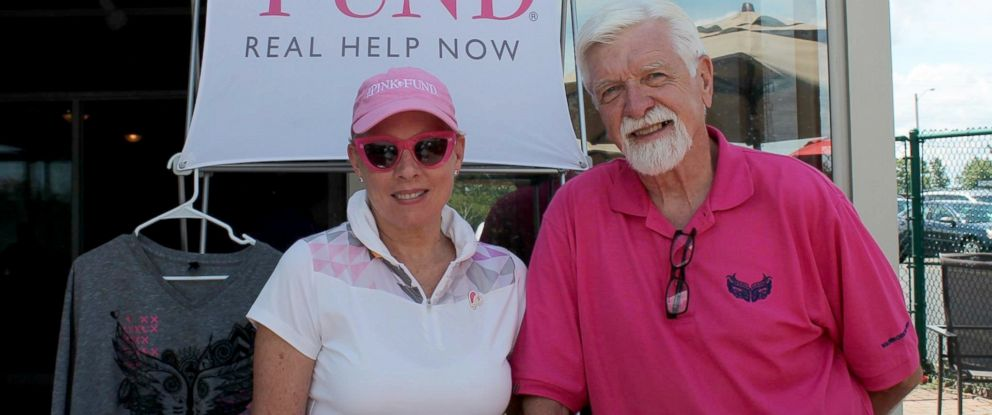 PHOTO: The Pink Fund founder Molly MacDonald with her husband, Thomas Pettit.
