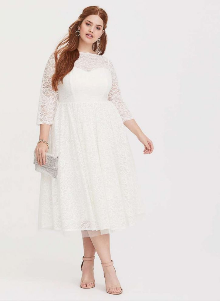 11 plus size summer wedding dress looks for under $120 - ABC News