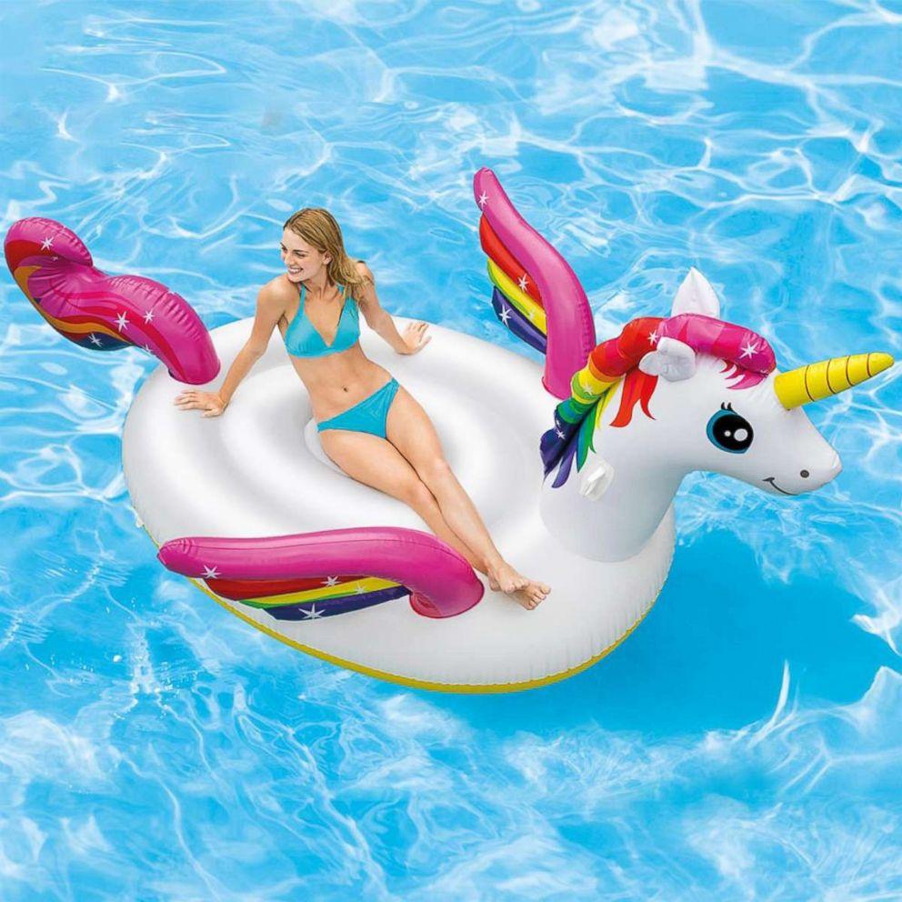 PHOTO: A mega unicorn pool float is for sale on Walmart.com for $29.99.