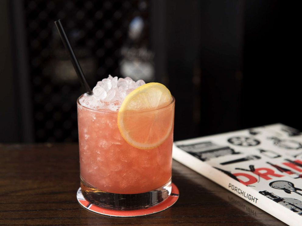 PHOTO: Nick Bennett, the head bartender at Porchlight, a Danny Meyer bar and restaurant in New York City, created the Napoleon Smash, a refreshing drink with black tea, lemon juice, simple syrup, grenadine and raspberry vinegar.