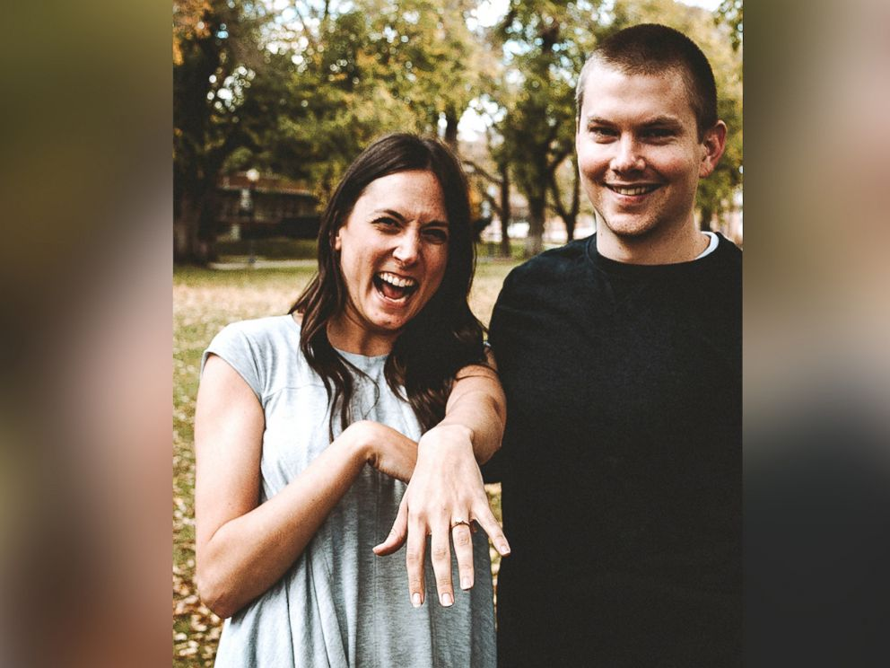 PHOTO: Sara Trigero and Dallin Knecht plan to tie the knot in summer 2019.