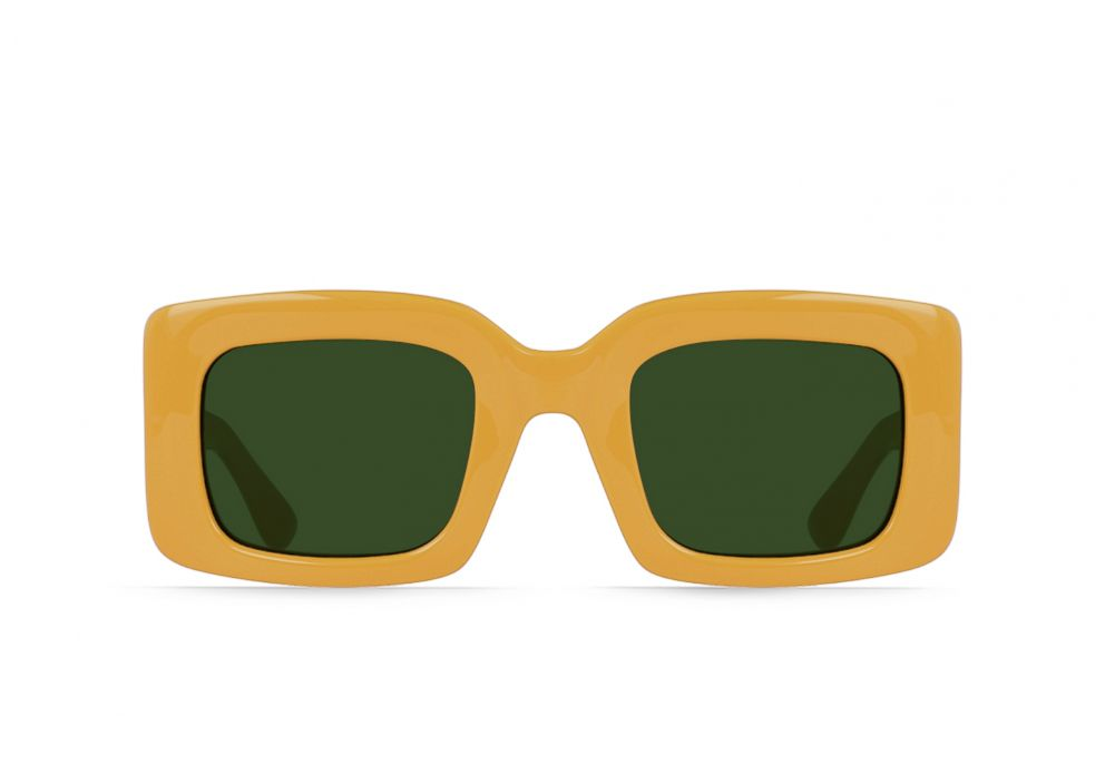 PHOTO: Fun sunglasses to pack for Coachella: Raen Flatscreen sunglasses shown in Disposable color.