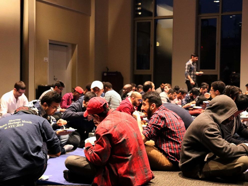 PHOTO: Young Muslims in New York City find community during Ramadan at the Islamic Center at New York University.