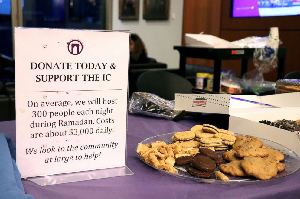 PHOTO: The Islamic Center at New York University and Islamic Relief fund have raised over $440,000 through donations from students, families, and community members.