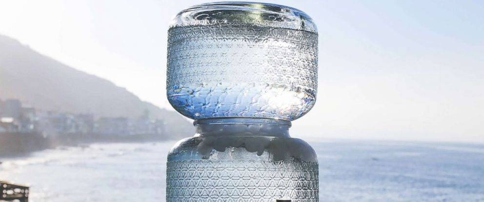 """PHOTO: Live Water is one company selling the """"raw"""" water thats becoming a popular trend."""