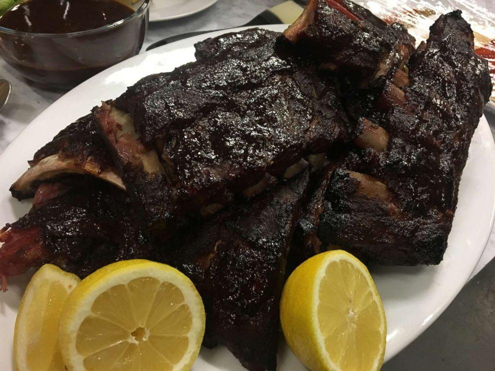PHOTO: Blue Smoke executive chef Jean-Paul Bourgeois shares his recipe for pork ribs.