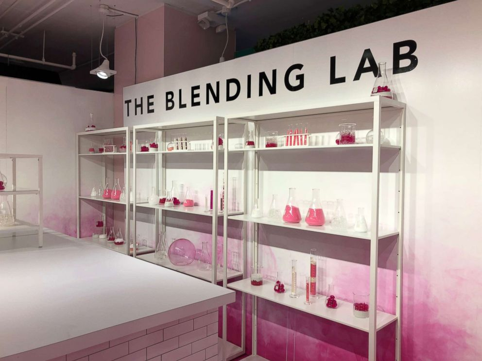 PHOTO: At the blending lab, you can mix your own glass of wine.