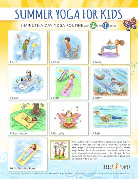 Yoga For Kids As Simple As The Abcs Gma