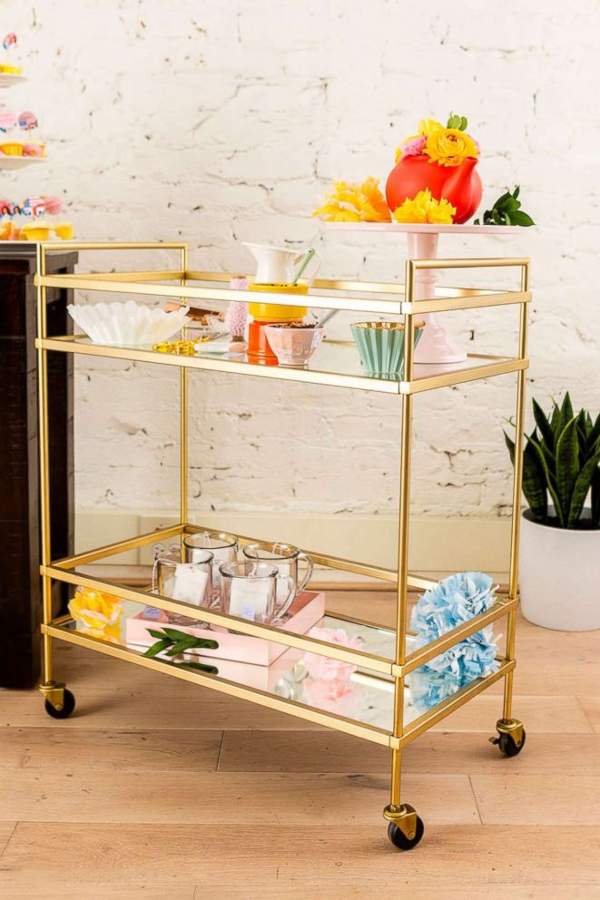 PHOTO: Every royal wedding viewing party needs a tea party bar cart!