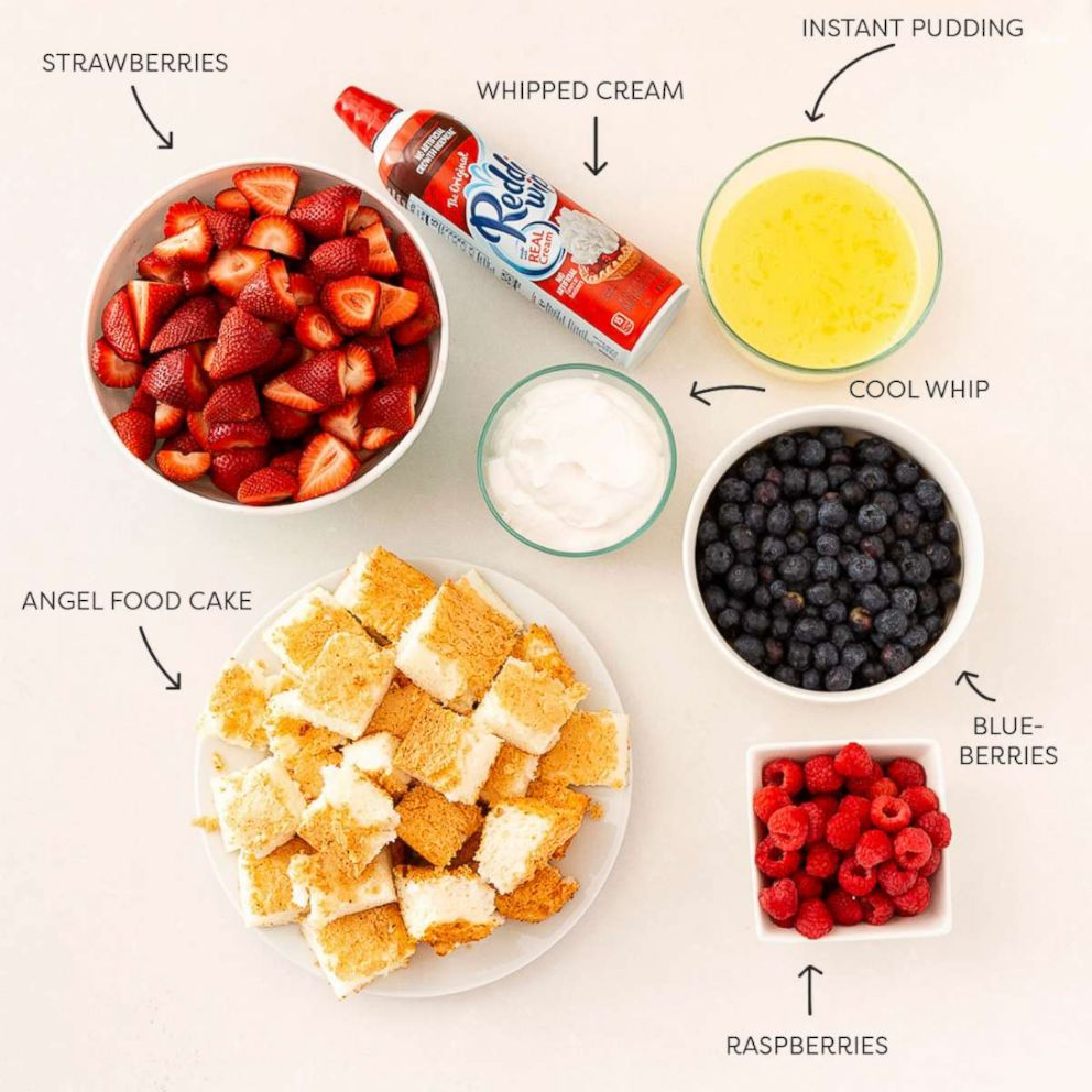PHOTO: Here are all the ingredients to make a British trifle.