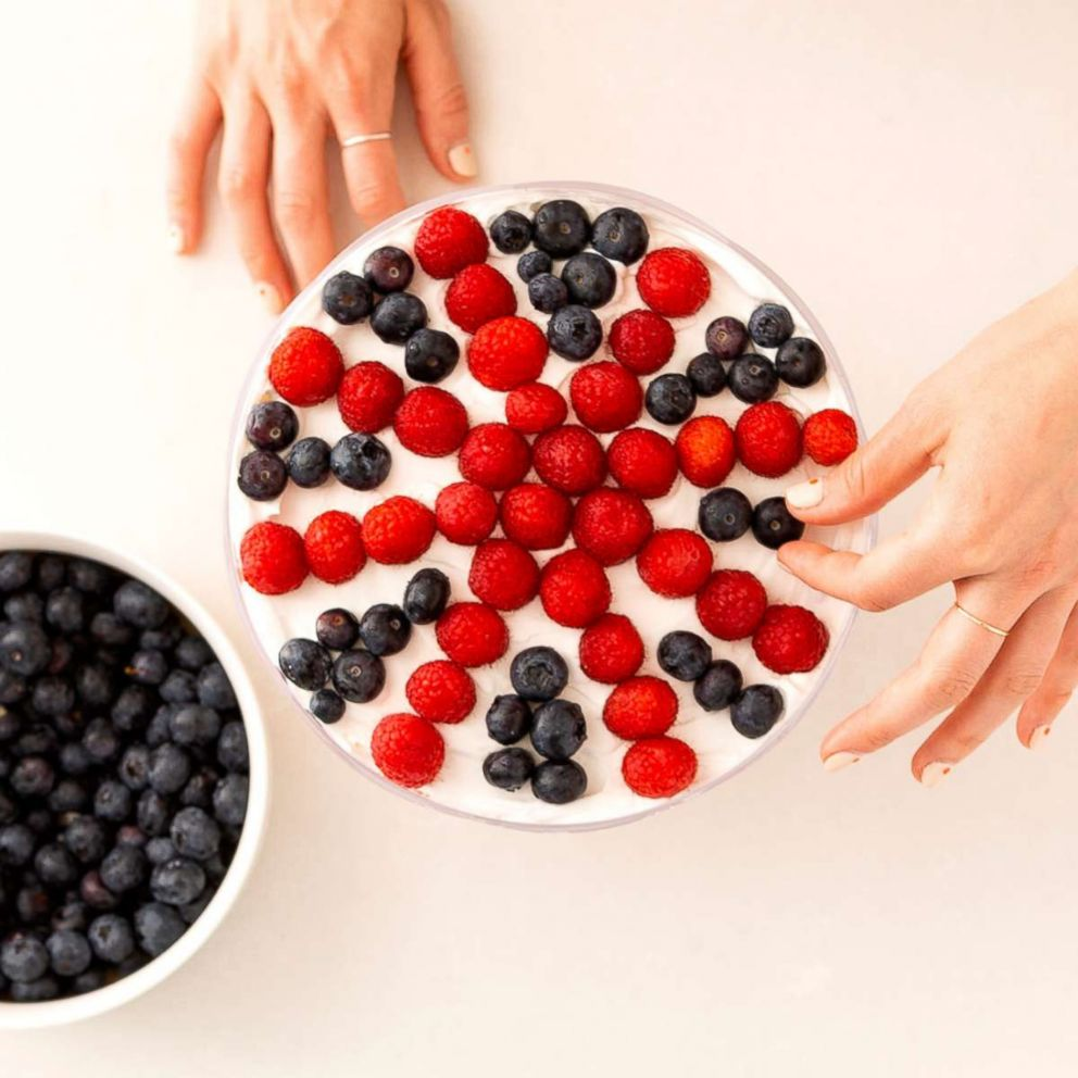 PHOTO: Blueberries will give your British trifle that perfect flavor.