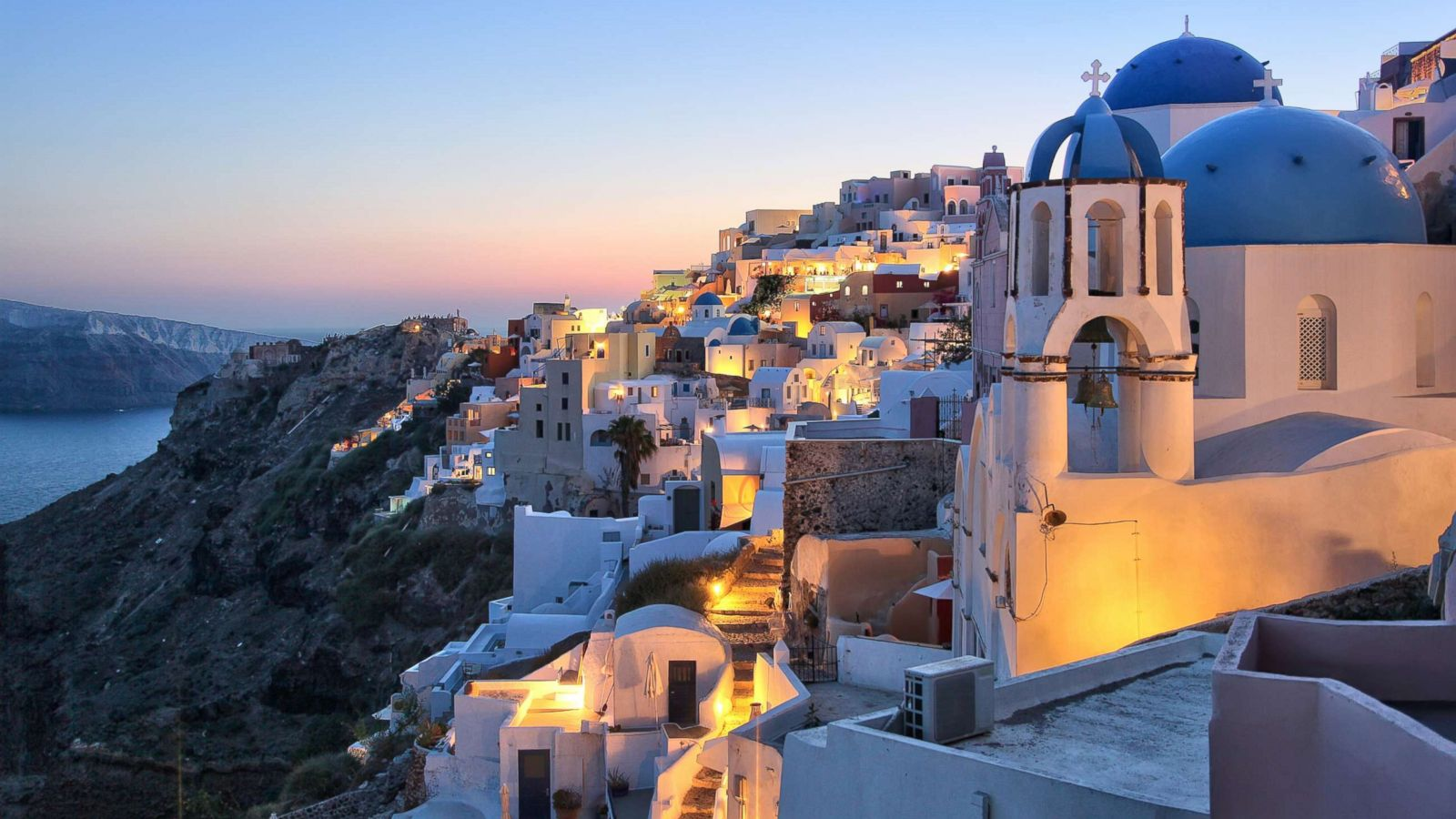 Santorini is the Greek island you must visit before you die - ABC News