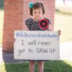 Paint the Sky Photography captured these images inspired by the trending hashtag #IfIDieInASchoolShooting.