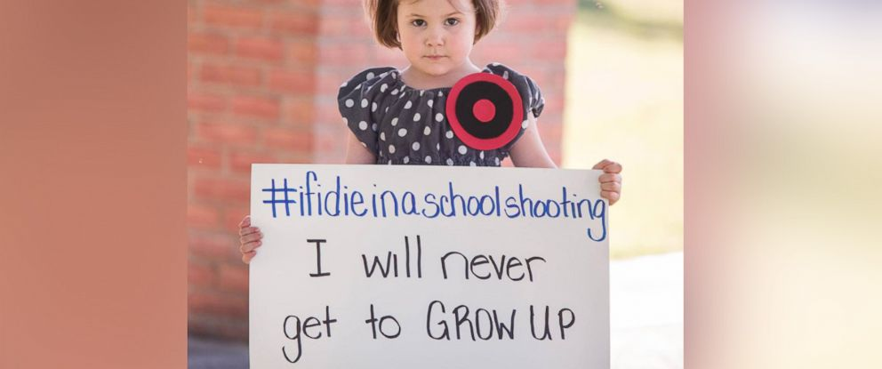 PHOTO: Paint the Sky Photography captured these images inspired by the trending hashtag #IfIDieInASchoolShooting.