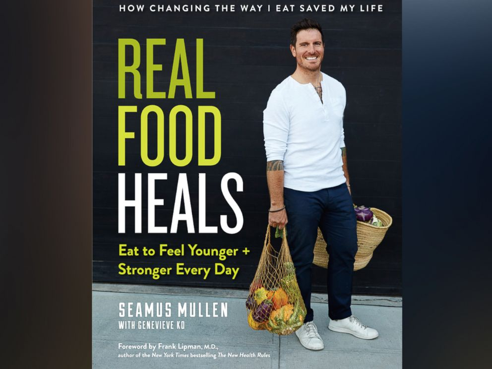 PHOTO: Chef Seamus Mullen is out with a new book, Real Food Heals, filled with Paleo-inspired and nourishing recipes.