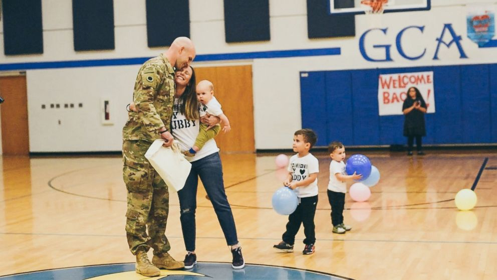 Army Specialist Seth Howard of Columbus, Ohio, was deployed to Jordan for 11 months.