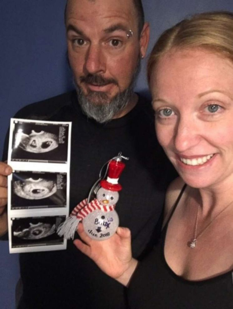 PHOTO: Wesley and Shantelle Dozier, of Montz, Louisiana, are expecting twins in August.