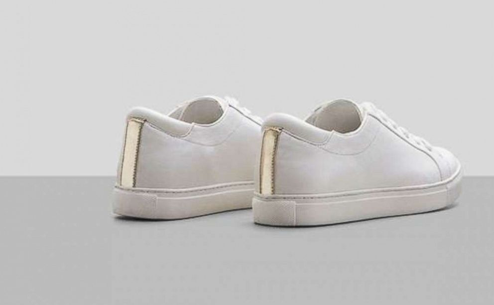 PHOTO: Kenneth Cole Kam sneakers in white.