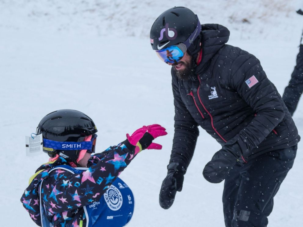 PHOTO: Lilly Biagini said she felt free while snowboarding with Keith Gabel, a U.S. Paralympian.
