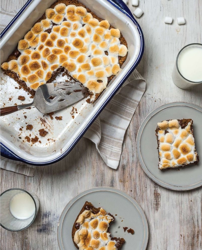 "PHOTO: Ali Rosen, the author of the new cookbook ""Bring It!: Tried and True Recipes for Potlucks and Casual Entertaining,"" shares her recipe for smore's bars that you can make two days ahead."
