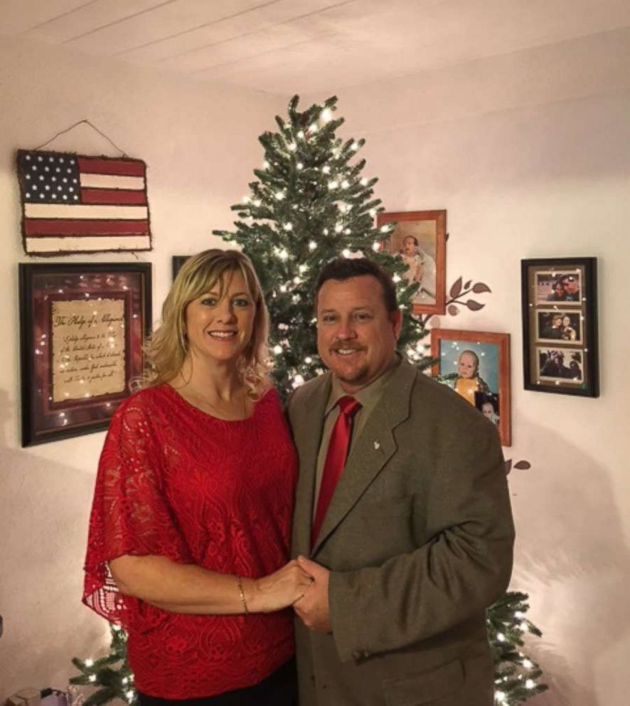 PHOTO: James and Kimberly Snead pictured here at Christmas, opened the doors of their Parkland, Fla., home to Nikolas Cruz, 19, after his adoptive mother died in November.
