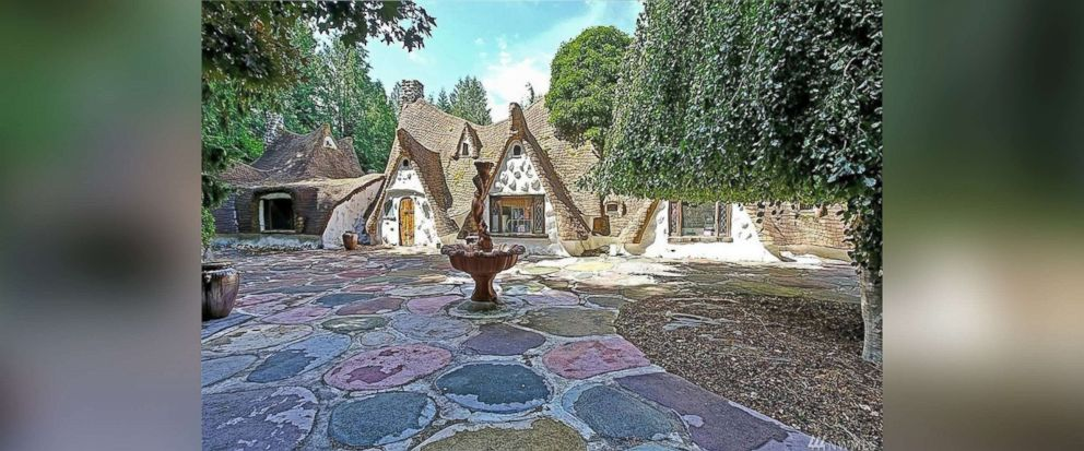 "PHOTO: This Olalla, Wash., home inspired by the cottage in ""Snow White,"" is now on sale for $775,000."