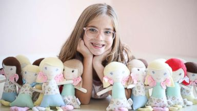 'PHOTO: 9-year-old Charlotte Gould runs a company that makes dolls for kids in hospitals.' from the web at 'https://s.abcnews.com/images/Lifestyle/stiches-ht-1-er-180222_16x9t_384.jpg'