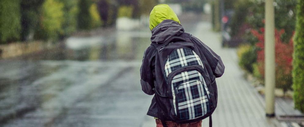 PHOTO: A boy walks home from school in an undated stock photo.