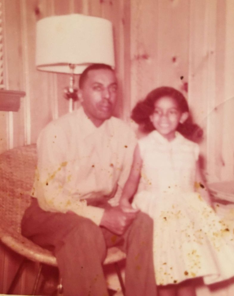 PHOTO: A throwback photo of Jacqueline Sumner with her late father, William Robinson.