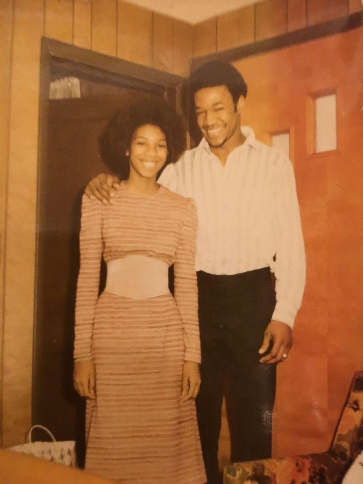 PHOTO: A throwback photo of Kenneth and Jacqueline Sumner, who met as teenagers.