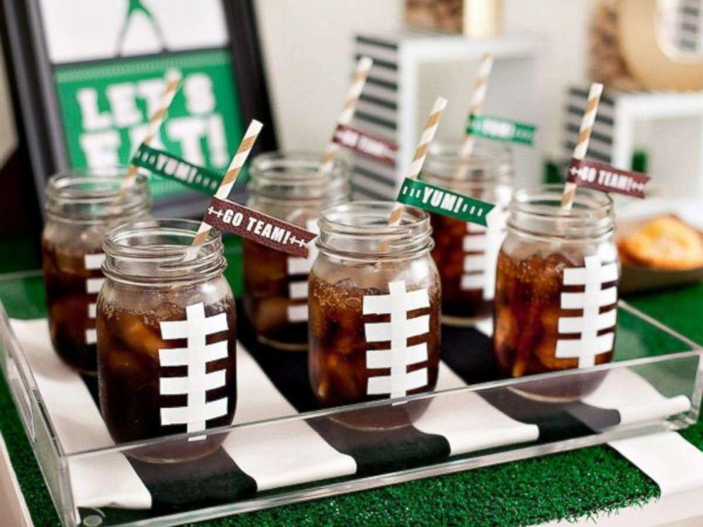 Throw A Festive Super Bowl Party With These Diy Decor Ideas Abc News
