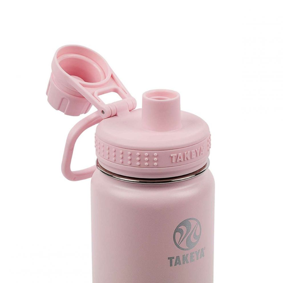 PHOTO: Takeya reusable bottles feature an insulated spout lid and comes in five bottle sizes.