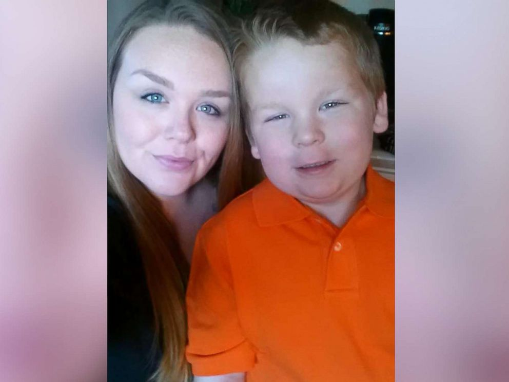 PHOTO: Tara Parker Routzong, of Troy, Ala., with her 9-year-old son Landon.