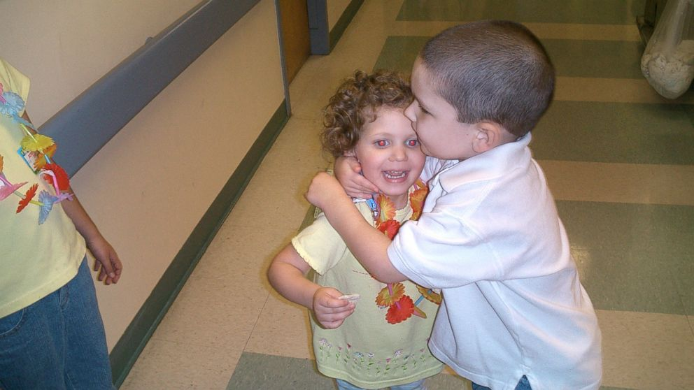 """Jakob """"JJ"""" Jasin, 17 and Grace Haddad, 16, both received liver transplants in 2004 at Children's Hospital of Pittsburgh of UMPC."""