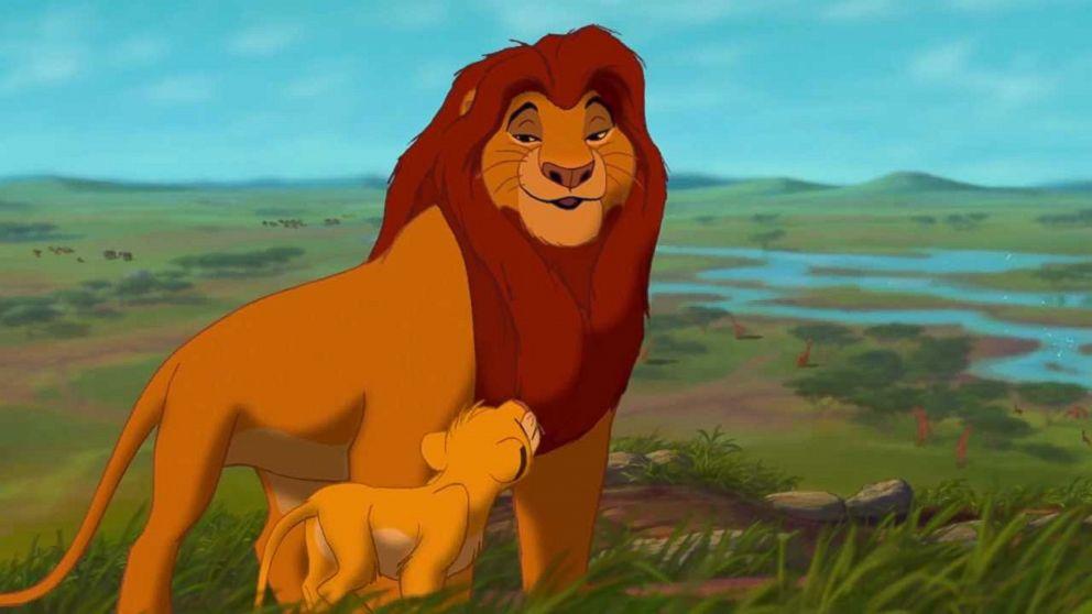 PHOTO: Disneys animated movie, The Lion King.