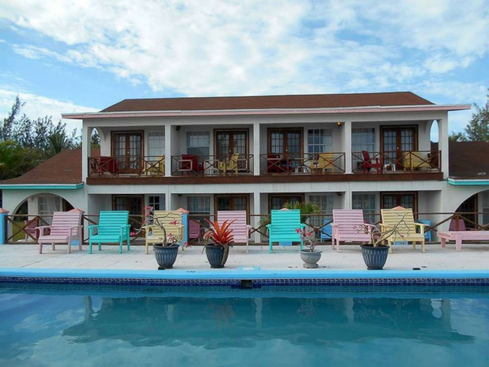 PHOTO: Located in the Bahamas, The Resort can hold up to 24 guests. Pictured here, The Resort accommodations.