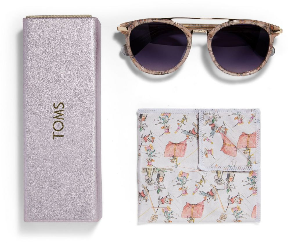 PHOTO: These Disney and Toms Jaq and Gus Harlan sunglasses are selling for $179.95.