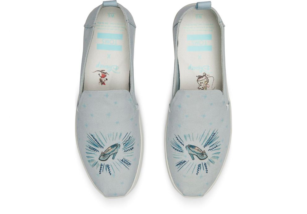 PHOTO: These Disney and Toms Cinderella Glass Slipper slip on shoes are selling for $74.95.