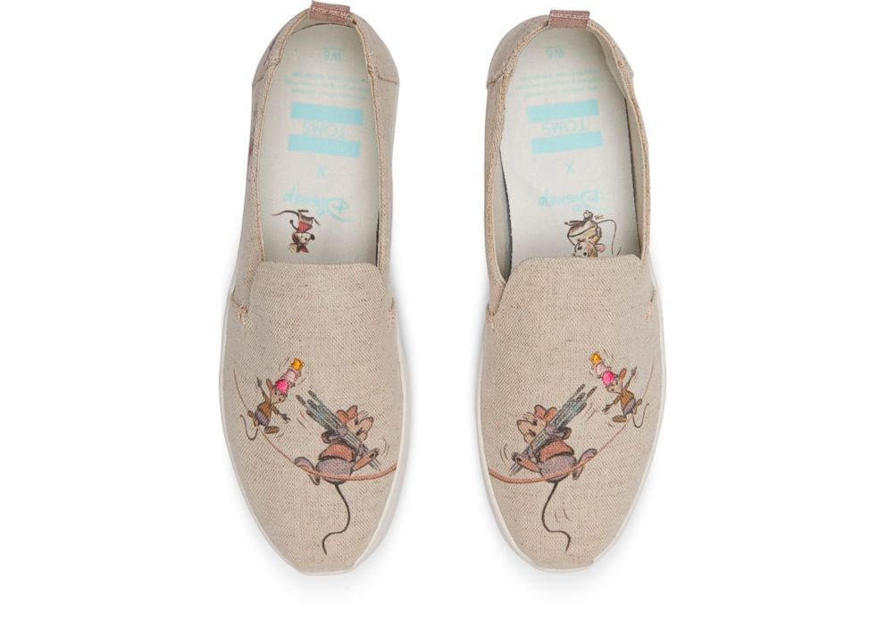 PHOTO: These Disney and Toms Gus and Jaq slip on shoes are selling for $74.95.