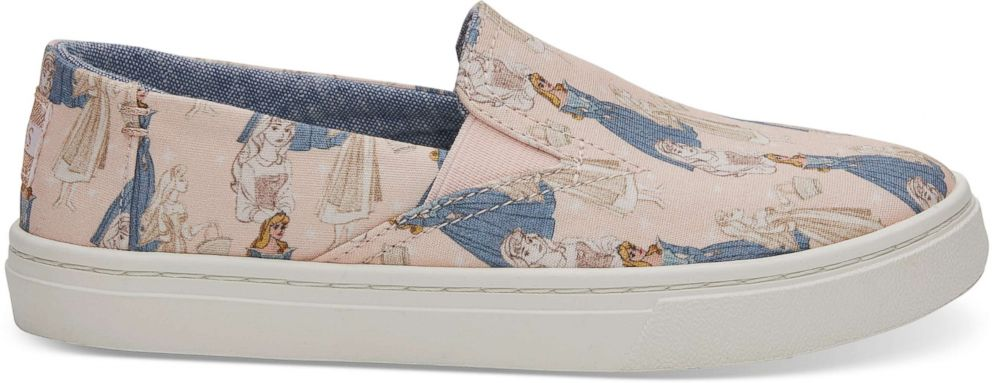 PHOTO: These Sleeping Beauty sneakers are part of the new Disney and TOMS Sleeping Beauty collection.