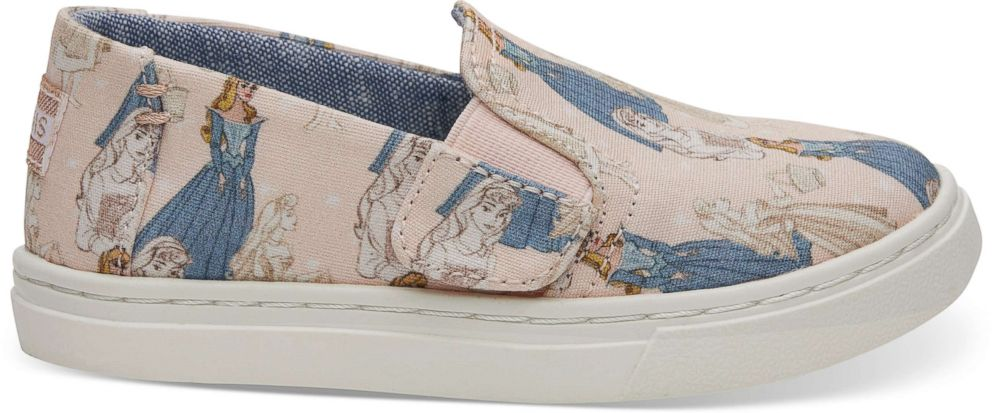 PHOTO: The Disney and TOMS Sleeping Beauty sneakers also come in kids sizes.