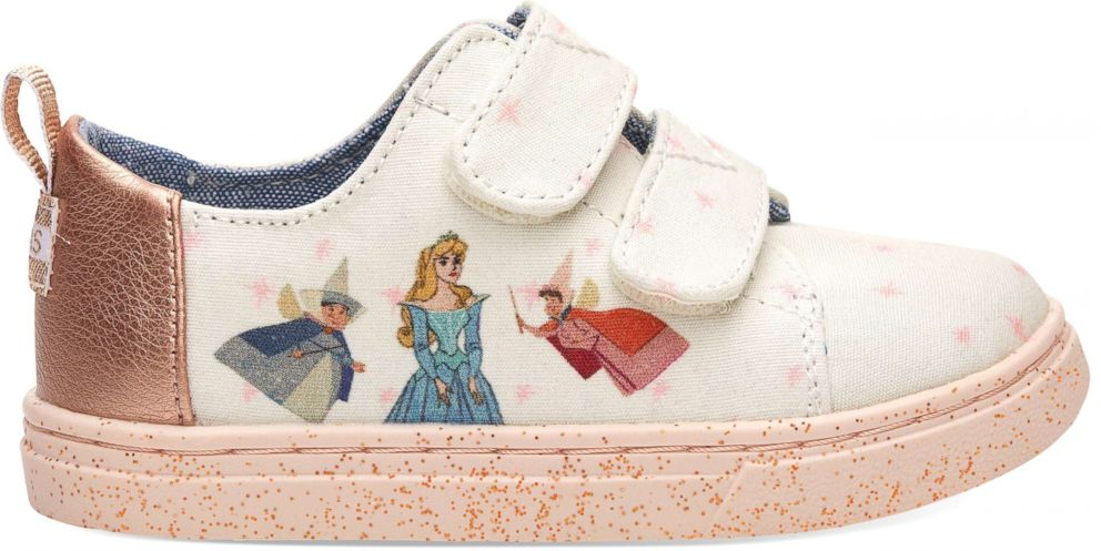 PHOTO: The Disney and TOMS Sleeping Beauty collection has shoes for babies and toddlers too.