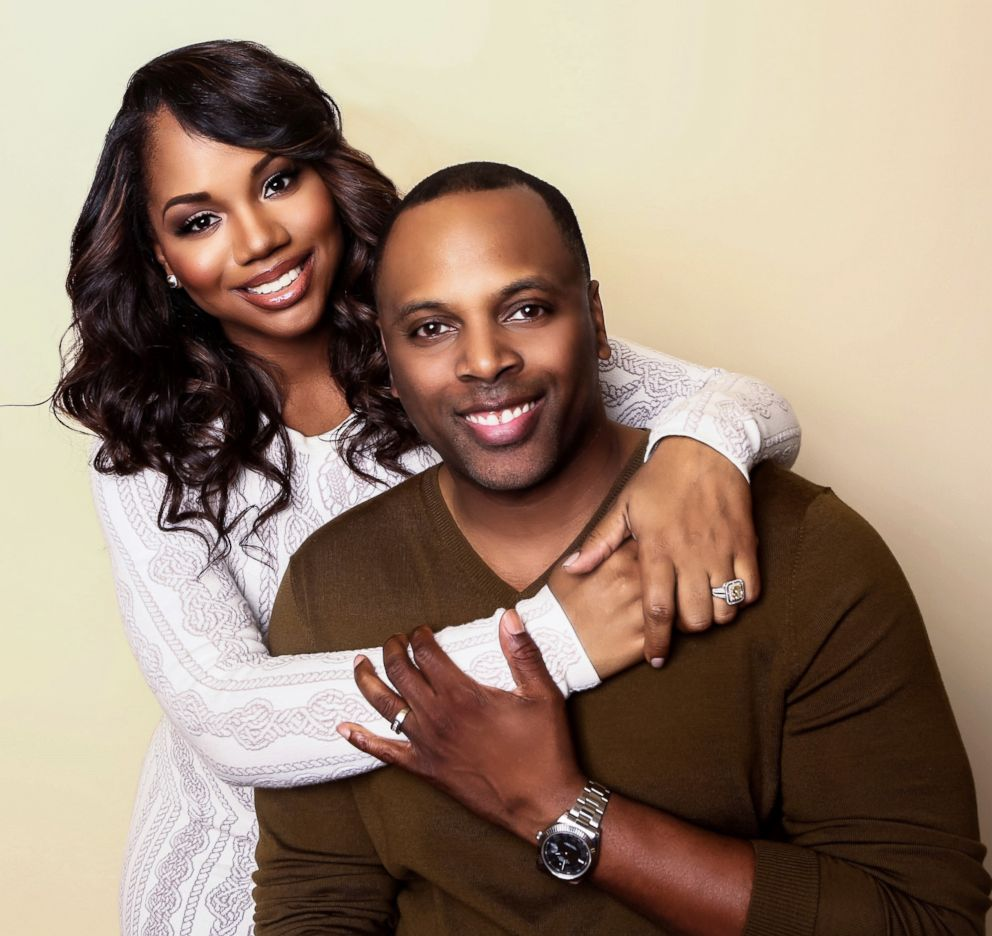 PHOTO: Pastor and author Toure Roberts with his wife, co-pastor and author Sarah Jakes Roberts.