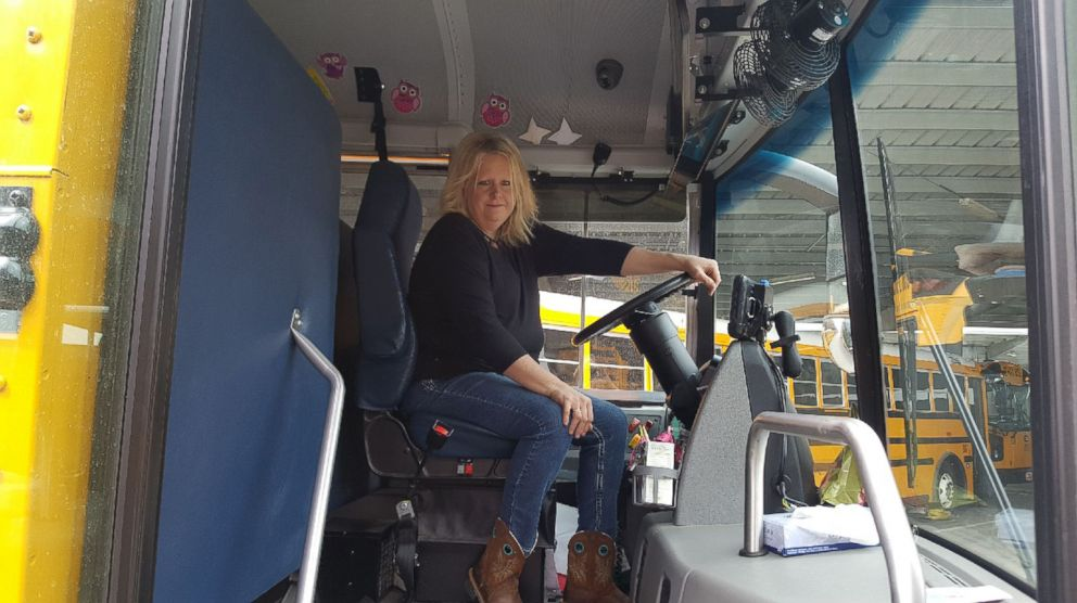 PHOTO: Tracy Dean has been driving the bus at Alpine School District in Utah for 10 years.